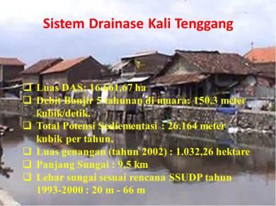 Sistem Drainase Kali Tenggang